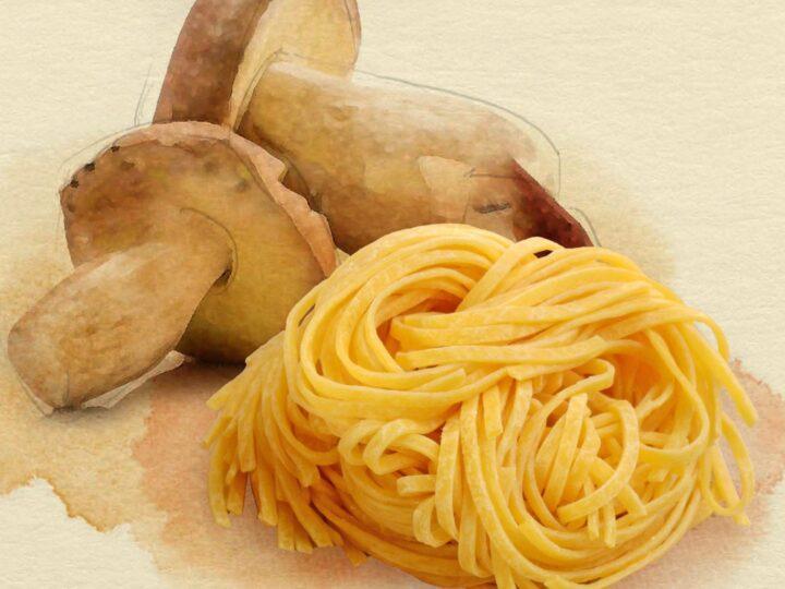 In pochi minuti, Tagliolini Michelis all'uovo con funghi porcini, la ricetta di Monica